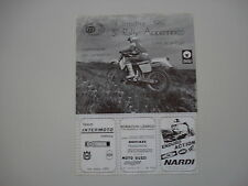 advertising Pubblicità 1987 RALLY APPENNINICO MOTO CLUB PISTOIA e HUSQVARNA