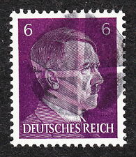 Mint Never Hinged Hitler Head Obliteration Post WWII #8 A