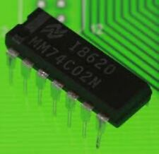 NS MM74C02N DIP-14 Quad 2-Input NAND Gate . Quad 2-Input
