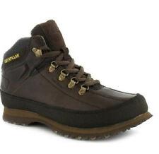 Mens Caterpillar Brown Leather Casual BOOTS Restore P713365 UK 8 EU 42