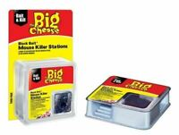 The Big Cheese All Weather Block Bait Mouse Killer Station Twin Pack STV210