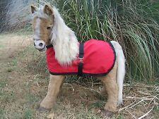 Butterscotch S'Mores RED Blanket Designed for FurReal Pony