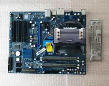 Abit IP35-E Mainboard LGA775 + Intel Core 2 Duo E6750 + 2x2 GB Ram + Blende
