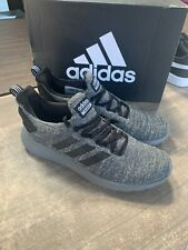 New adidas Men's Cloudfoam Lite Racer Byd Running Shoes Grey Black Pick Size