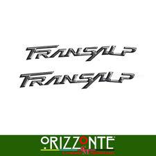 Adesivo HONDA TRANSALP 3D Etichette Resinate 3D effetto metallo