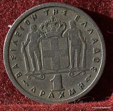 GRECE  1 drachma 1957 GREECE  MO169