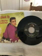 45 RPM - ELVIS PRESLEY - ALL SHOOK UP - WITH PICTURE SLEEVE