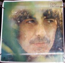 BEATLES GEORGE HARRISON 1979 VINTAGE ORIG MUSIC ALBUM RECORD STORE PROMO POSTER