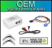 Citroen C2 AUX in lead STEREO AUTO Smartphone Android Player Adattatore di connessione
