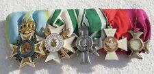 Ordensspange with 5 Awards Everything Nachfertigungen Order Empire Top