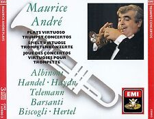 MAURICE ANDRE PLAYS VIRTUOSO TRUMPET CONCERTOS / 3 CD-SET - TOP-ZUSTAND