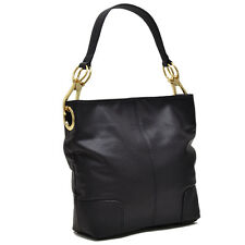 New Dasein Corner Patched Women Leather Hobo Tote Shoulder Bag Handbag Purse
