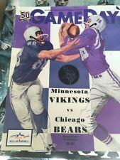12-20-2010 Minnesota Vikings vs. Chicago Bears Favre Last Game Program