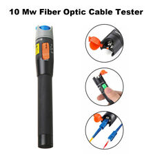 Mini Fiber Optic Laser Visual Fault Locator 10mW Cable Tester Test Equipment US