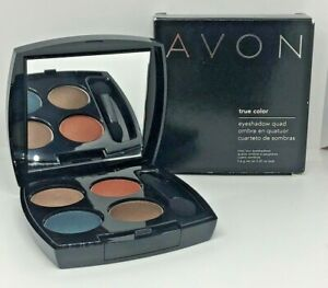 NIB  Avon True Color Eye Shadow Quad ~ Caribbean Sunset Q911