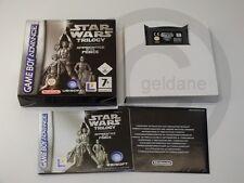 !!! Nintendo gb Advance juego Star Wars Trilogy OVP, usados pero bien!!!