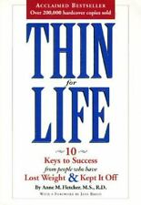 Eating Thin for Life by Anne M. Fletcher (1994, Paperback)