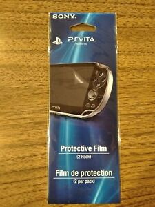 SONY PS VITA PROTECTIVE FILM/SCREEN PROTECTOR 1 PACK - OFFICIAL NEW