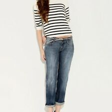 "DL1961 4 Way Stretch ""KYLE BOYFRIEND"" Lowrise Jeans In WIRE Wash Size 26"