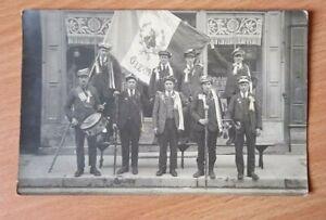 Photo carte de conscrits - Oizon ( Cher 18) - années 1900 - 1920