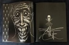Black Magick: The Art of Chet Zar *Signed & Doodled* + Signed Promo Postcards