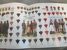 SHAT  Du pantalon garance à la tenue désert - Costume militaire