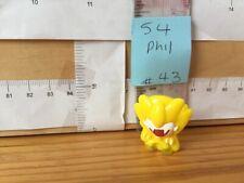 #43 Rare Phil Yellow Series4 Gogos Crazy Bones, Single Figure