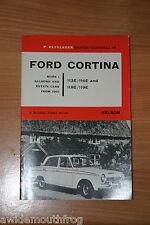 FORD Cortina MARK 1 saloni viaggiatori e auto vetture dal 1962 113E / 114E / 118E / 119E
