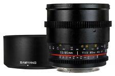 Samyang 85mm T1.5 V-DSRL AS IF UMC Obiettivo per Pentax.