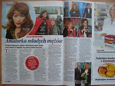 ALLA PUGACHEVA (PUGACHOVA) in Polish Magazine RELAKS, Tom Hanks,Adam Malysz