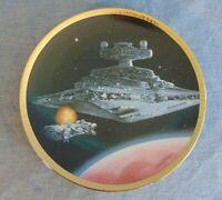 Star Wars Space Vehicles Star Destroyer Hamilton Collection Plate Original 1995