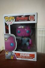 Funko Pop Vinyl Bobble Head Avengers Vision #71 New Box Slight Damage Free-Post