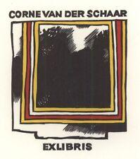 Ex Libris Cees Andriessen : Corne van der Schaar