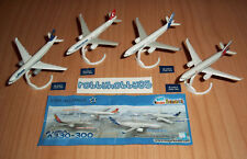 SERIE COMPLETA AIRBUS A330-300 (DC093 D - G) + 4 BPZ KINDER GERMANIA 2013/2014