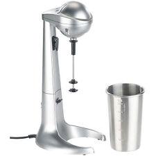 Milchshaker: Elektrischer Drink-Mixer mit Edelstahl-Becher, 65 Watt