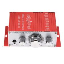 Mini Hifi Stereo Audio Amplifier for Speaker PC TV Cell Phone Car Vehicle
