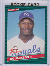 BO JACKSON RC 1986 Donruss THE ROOKIES Kansas City Royals Baseball ROOKIE CARD