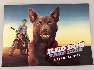 Red Dog True Blue 2017 Calendar The Movie Our Dog Our Story Legend Koko NEW