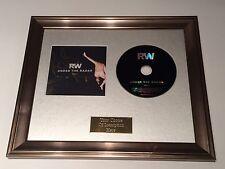 SIGNED/AUTOGRAPHED ROBBIE WILLIAMS - UNDER THE RADAR VOL 1 FRAMED CD PRESENTATIO