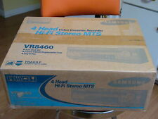 New Samsung Vr8460 Vhs S-Vhs Player playback Vcr 4 Head Hi Fi Stereo