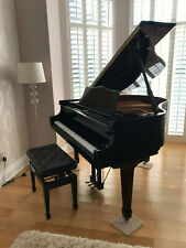 Black High Gloss Baby Grand Piano - Delivery