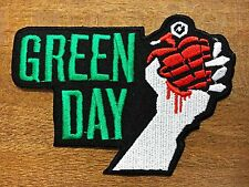 GREEN DAY American Idiot Rock Heavy Metal Band Logo Patch Iron on Jacket T Shirt