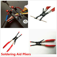 1Pcs Red Universal Car Soldering Aid Pliers Tool Hold 2 Wires Whilst Soldering