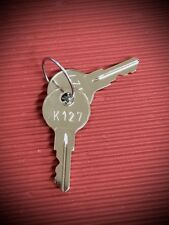 BAUER Key #K127 for T Handles-Suits ARB,Ute Hard Top Tonneau Lid Lock-FREE POST!