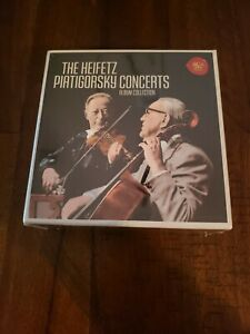 The Heifetz Piatigorsky Concerts Album Collection (21 CDs, RCA Red Seal)  SEALED