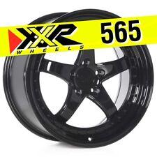 XXR 565 18x9.5 5-114.3 +20 Gloss Black Wheels (Set of 4) Fits Nissan 350Z G35