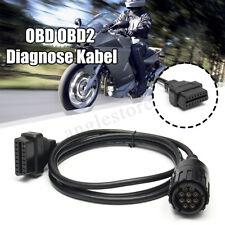 Universal OBD 2 Diagnose 10 Pin Adapter Kabel Stecker für BMW ICOM-D Motorrad