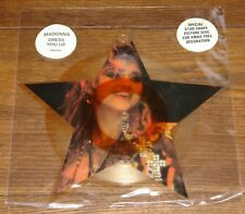 """MADONNA DRESS YOU UP  UK SHAPED 7"""" PICTURE DISC WITH ORIGINAL STICKERED SLEEVE"""