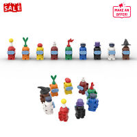 9 PCS Minifigures Among US Game Building Blocks Sets Model Bricks Toys for Kids