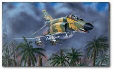 F-14A Tomcat L//E of 750 Shock Waves by John Doughty Aviation Art Print